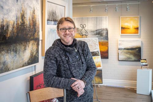Francois haguier peintre galerie art sherbrooke cantons-de-l'est